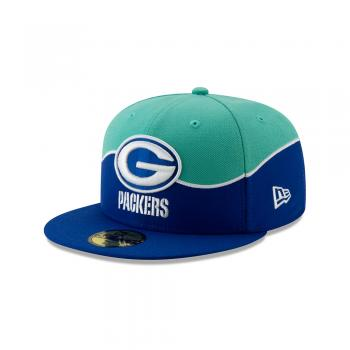 New Era - 59Fifty - NFL Draft 2019 - Green Bay Packers mint / royal blue