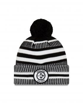New Era - On Field Home Knit - Pittsburgh Steelers black / white