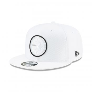 New Era - 9Fifty - Platinum Coll. - Pittsburgh Steelers white