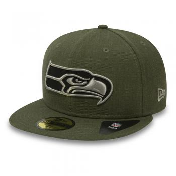 New Era - 59Fifty - Seattle Seahawks Heather olive
