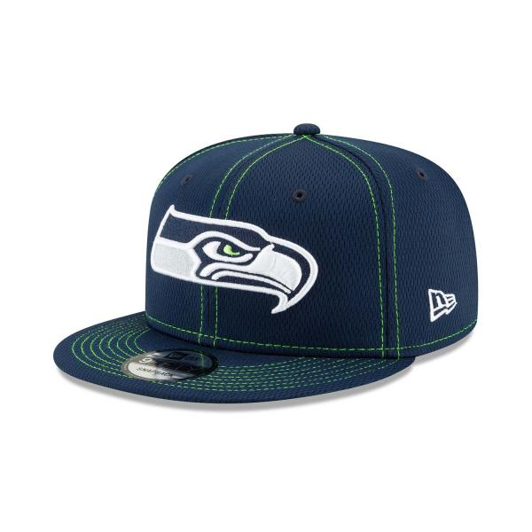 New Era - 9Fifty - NFL Sideline 2019 - Seattle Seahawks navy / green