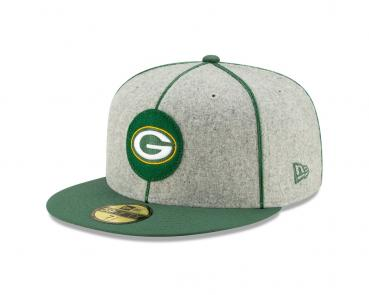 New Era - 59Fifty - NFL Sideline 19 - Green Bay Packers melton wool / green
