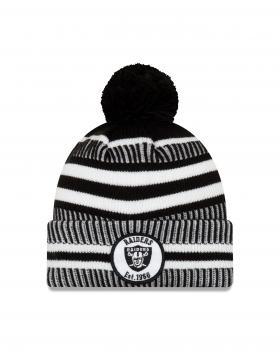 New Era - On Field Home Knit - Oakland Raiders black / white