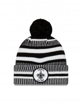New Era - On Field Home Knit - New Orleans Saints black / white