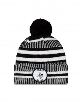 New Era - On Field Home Knit - Minnesota Vikings black / white