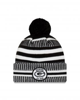 New Era - On Field Home Knit - Green Bay Packers black / white