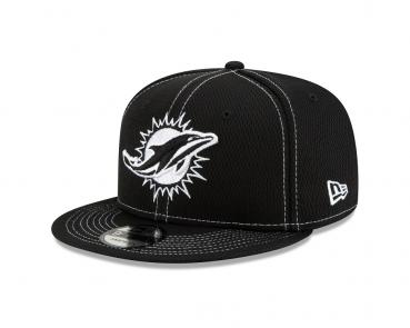 New Era - 9Fifty - NFL Draft 2019 - Miami Dolphins black / white