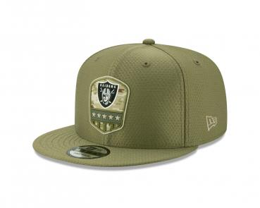 New Era - 9Fifty - Salute to Service - Oakland Raiders olive