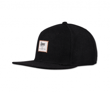 Djinns - Snapback - Jute Mix - Black
