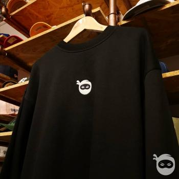 Ninjastoff - Oversized OG Sweater black