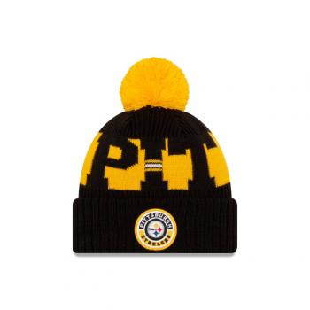 New Era - On Field Knit - Pittsburgh Steelers black