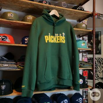 New Era - NFL x Peanuts Hoodie - Green Bay Packers green