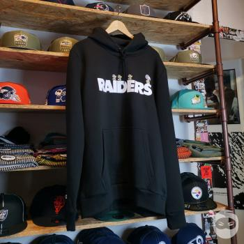 New Era - NFL x Peanuts Hoodie - Oakland Raiders black