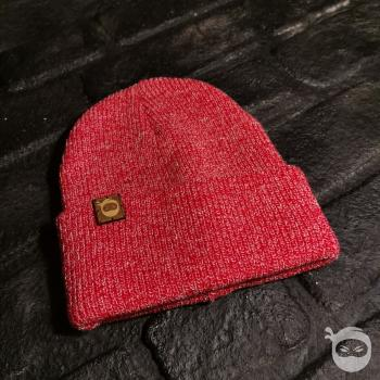 Ninjastoff - Knit Beanie - Heather Red