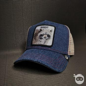 Goorin Bros. - Trucker Cap - Bandit blue denim