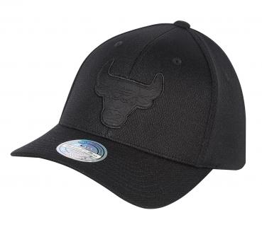 Mitchell & Ness - 110 Curved Snapback - Hybrid Jersey - Chicago Bulls black