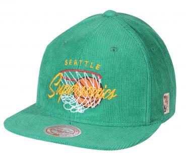 Mitchell & Ness - Snapback - Seattle Supersonics green
