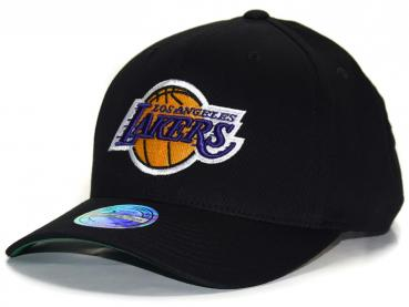 Mitchell & Ness - 110 Curved Snapback - Los Angeles Lakers black