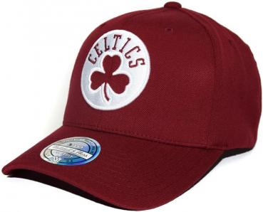 Mitchell & Ness - 110 Curved Snapback - Boston Celtics burgundy