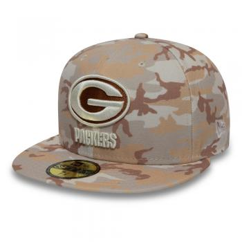 New Era - 59Fifty - Green Bay Packers desert camo