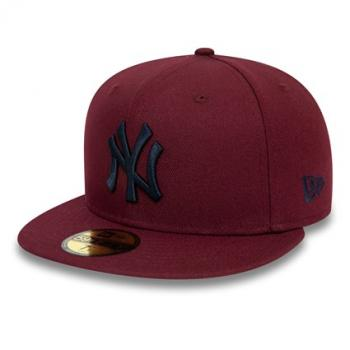 New Era - 59Fifty - New York Yankees maroon