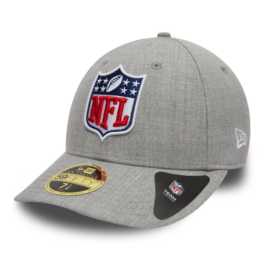 NFL SHIELD Logo schwarz New Era 59Fifty Fitted Cap