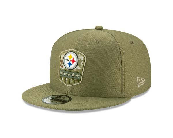 New Era - 9Fifty - Salute to Service - Pittsburgh Steelers olive