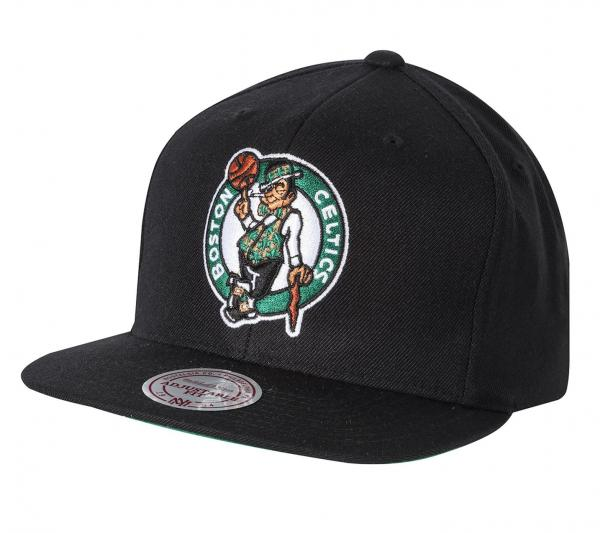 Mitchell & Ness Snapback - Boston Celtics black